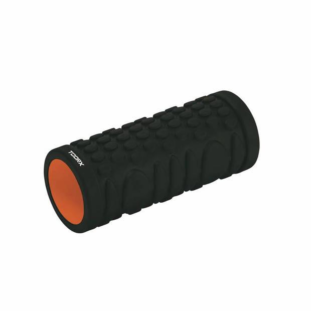 Toorx Grid Foam Roller 33 cm x 14 cm - Zwart