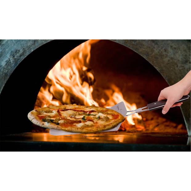 Alpina Pizzaschep - RVS - Inklapbaar