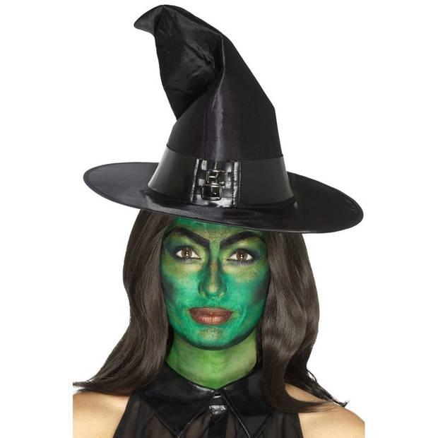 Halloween - Heksen schmink set groen
