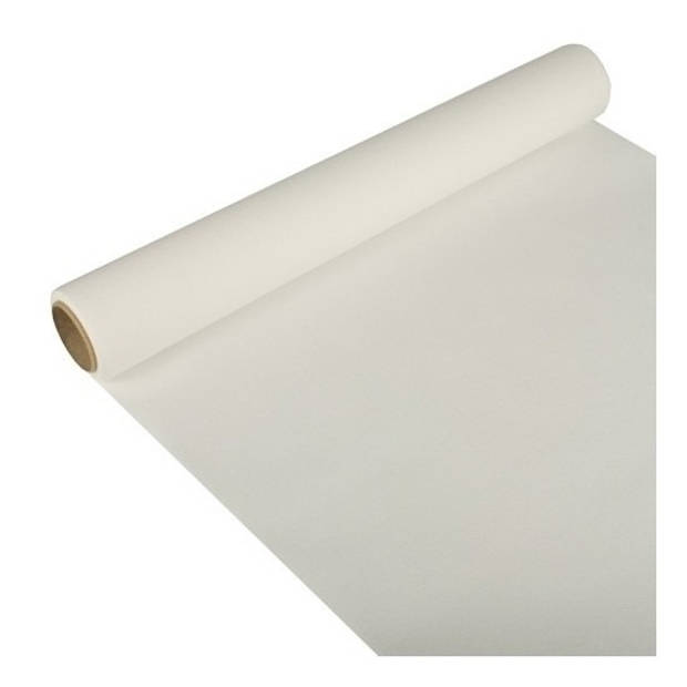 Tafelloper wit 300 x 40 cm papier - Tafeldecoratie