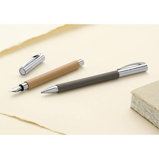 balpen Faber Castell Ambition OpArt 'zwart zand'