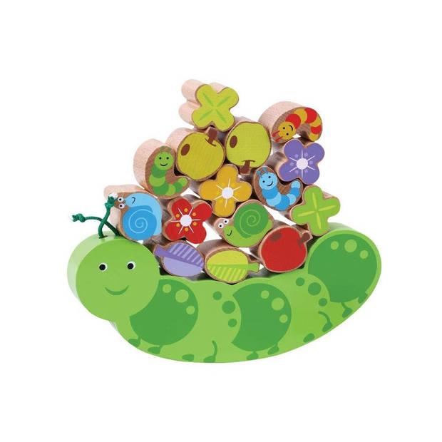 Jumini evenwichtsspel Caterpillar 17-delig