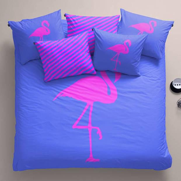 Damai Best Flamingo Forever dekbedovertrek - 2-persoons (200x200/220 cm + 2 slopen)