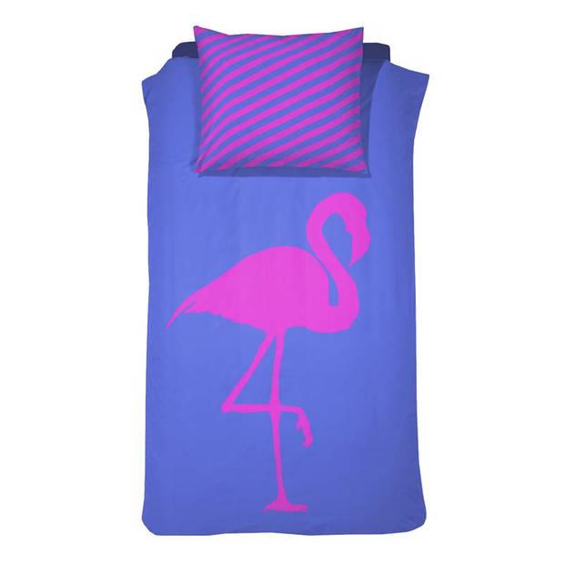 Damai Best Flamingo Forever dekbedovertrek - 1-persoons (140x200/220 cm + 1 sloop)