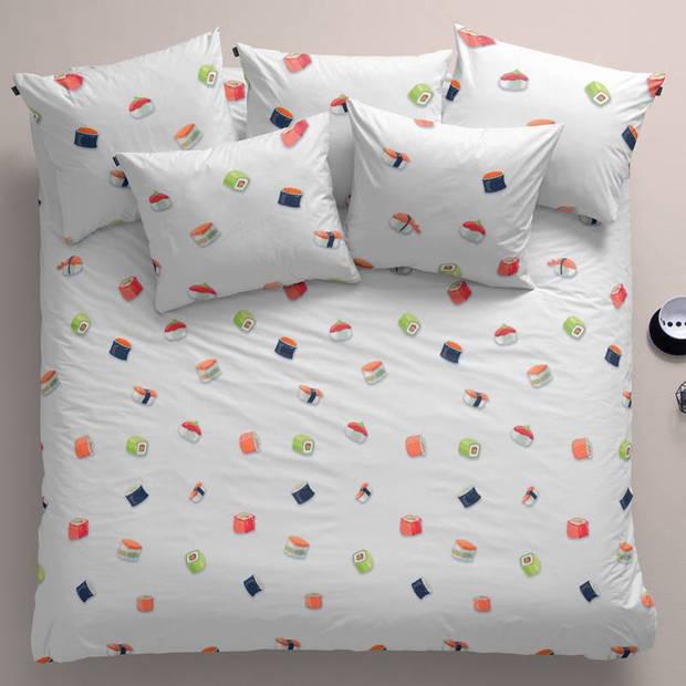 Damai All you can eat dekbedovertrek - Lits-jumeaux (240x200/220 cm + 2 slopen) - Katoen - White