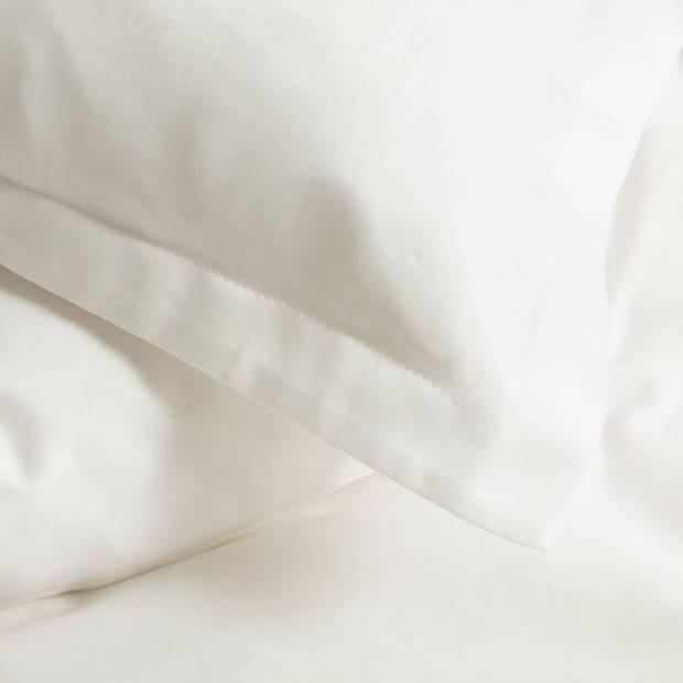 Cinderella Uni dekbedovertrek - Lits-jumeaux (260x200/220 cm + 2 slopen) - Katoen satijn - Ivory