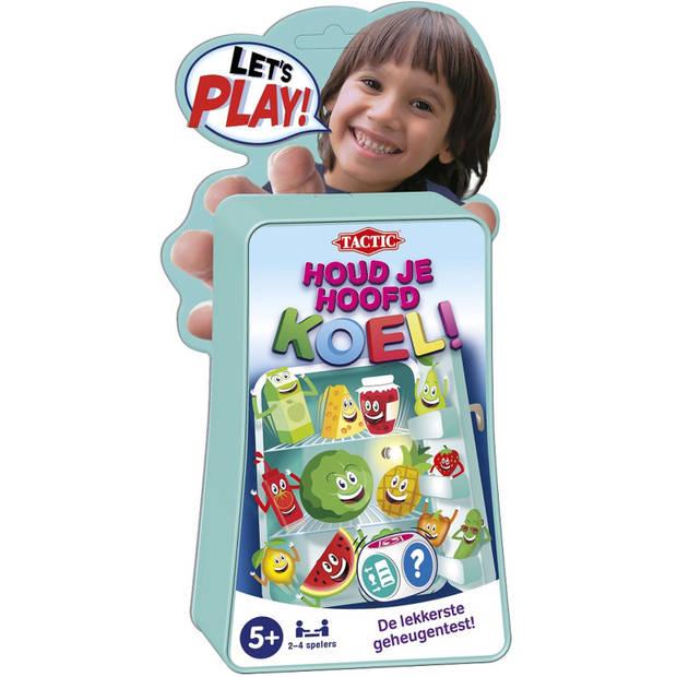 Tactic geheugenspel Let's Play houd je hoofd koel