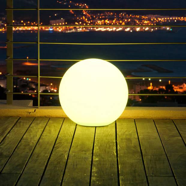 Lumisky oplaadbare bol met multicolor led verlichting ø 60 cm