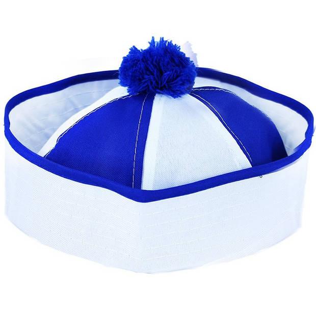 Boland pet marine unisex blauw/wit