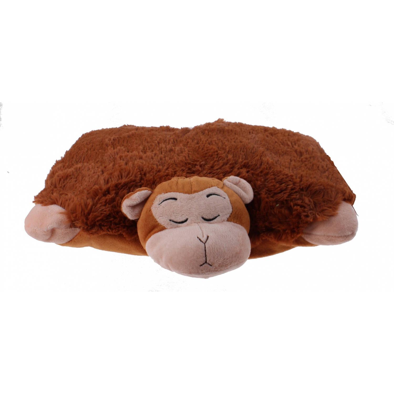 Summit knuffelkussen aap