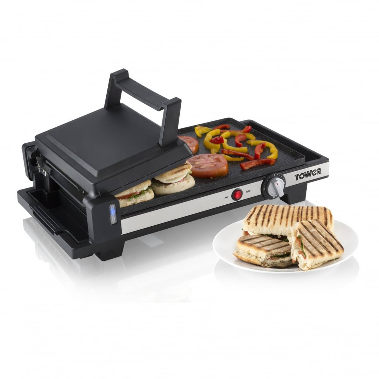 Tower 3-in-1 grill