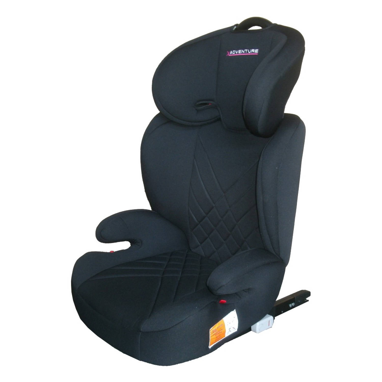 Autostoel X-adventure Juniorfix Zwart