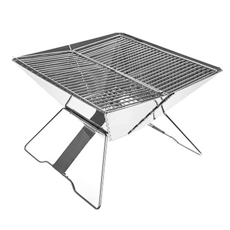 B&Co opvouwbare barbecue 31x31x21 cm