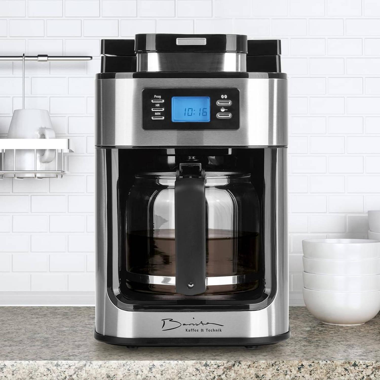 Barista programmeerbare koffiezetter met koffiemolen