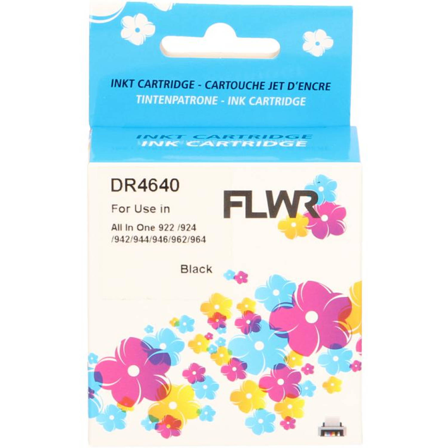FLWR Dell 922 zwart Cartridge