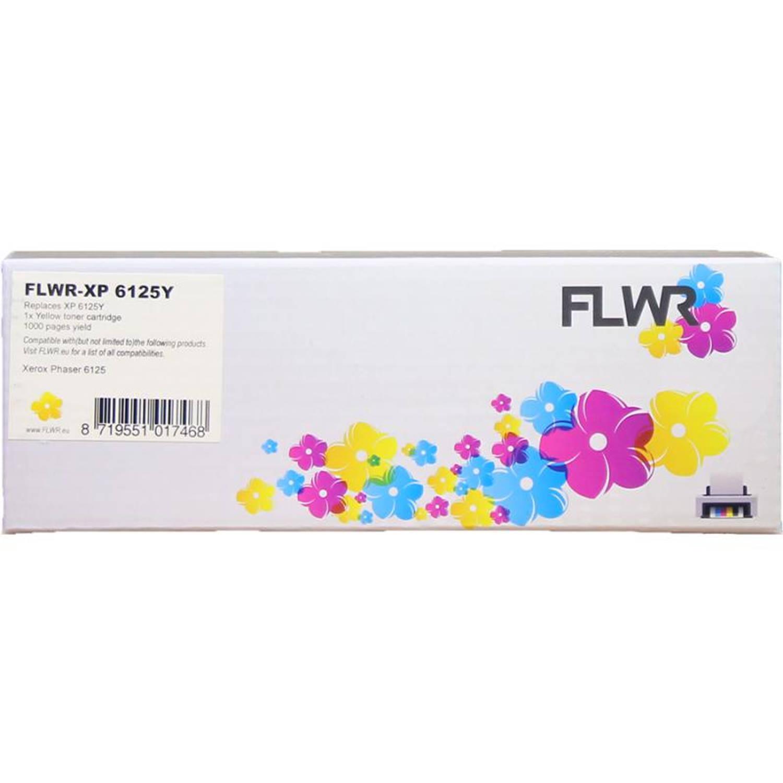 FLWR Xerox Phaser 6125 geel Toner