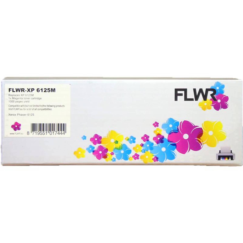 FLWR Xerox Phaser 6125 magenta Toner