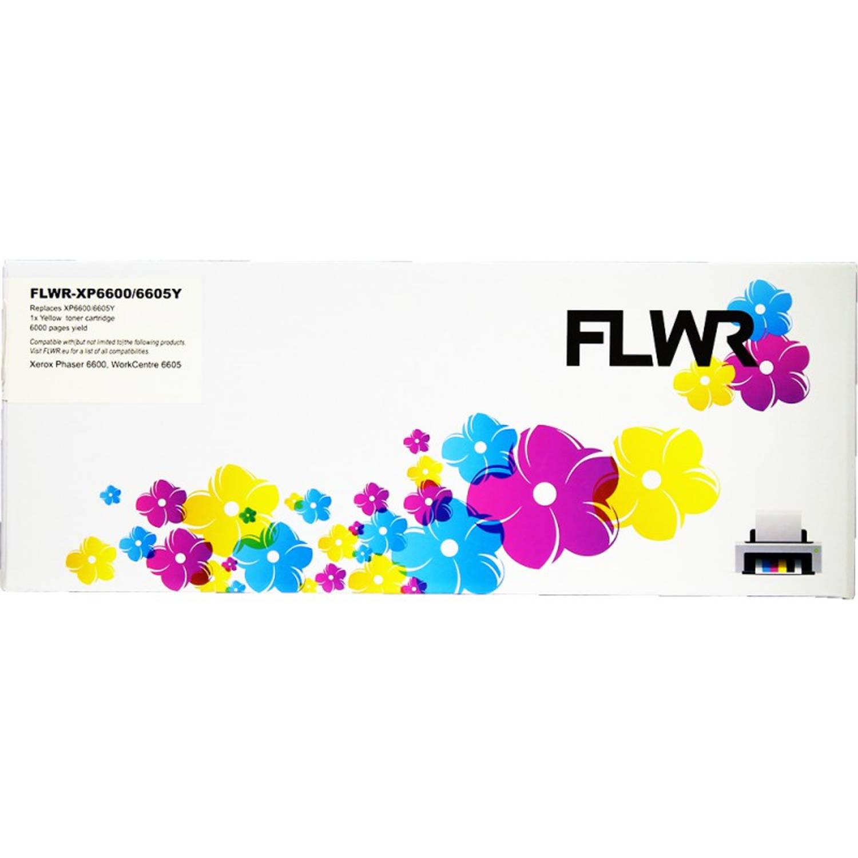 Korting Flwr Xerox 6600 6605 Geel Toner