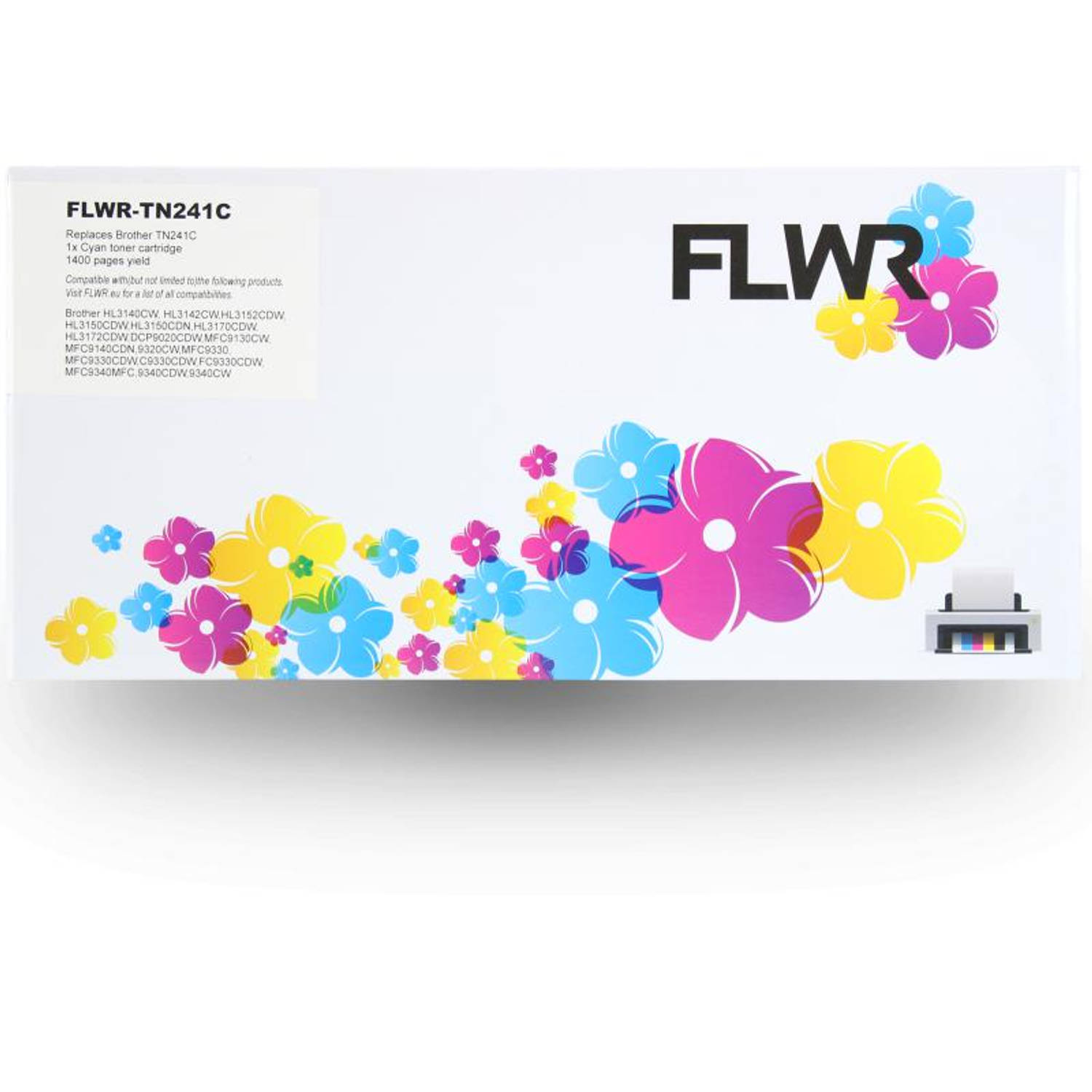 FLWR Brother TN-245 cyaan Toner