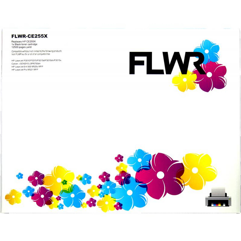 FLWR HP 55X zwart Toner