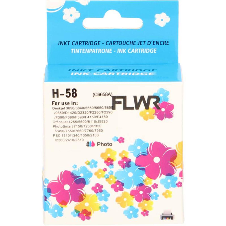 FLWR HP 58 foto kleur Cartridge