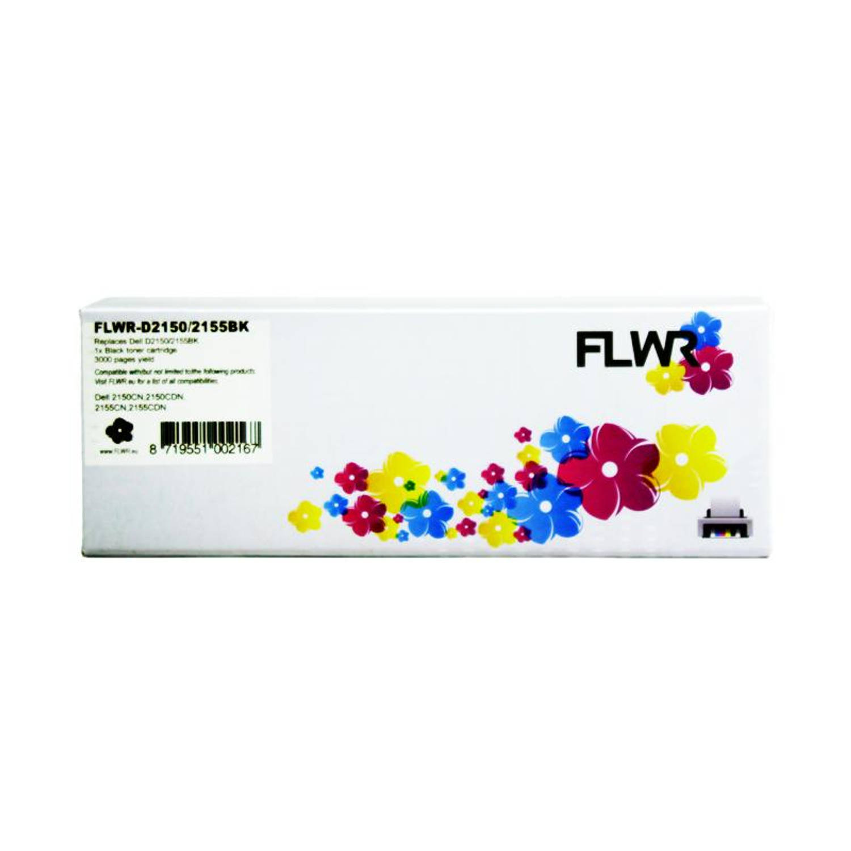 FLWR Dell 2150 / 2155 zwart Toner