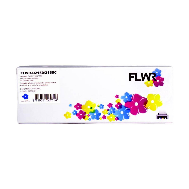 FLWR Dell 2150 / 2155 cyaan Toner