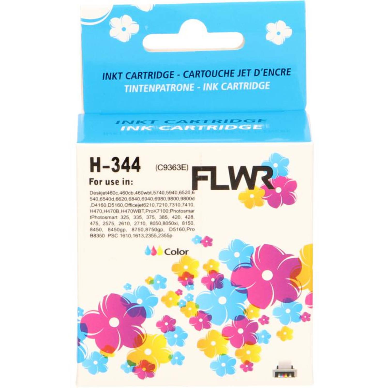 FLWR HP 344 kleur Cartridge