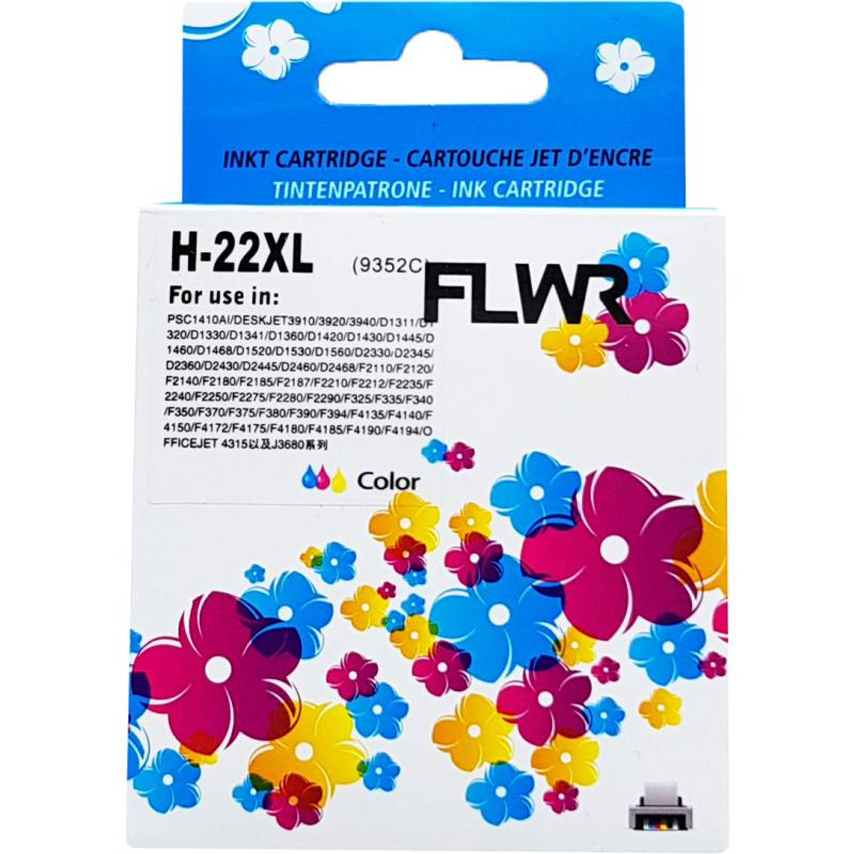 FLWR HP 22XL kleur Cartridge