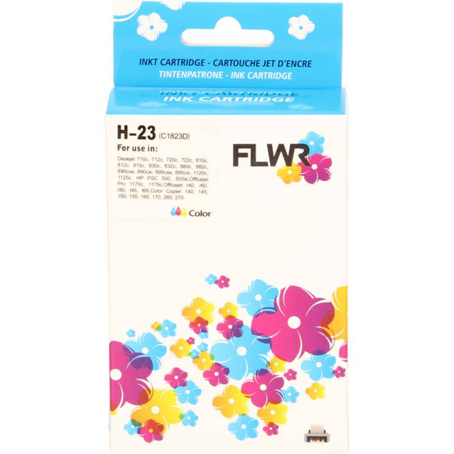 FLWR HP 23 kleur Cartridge