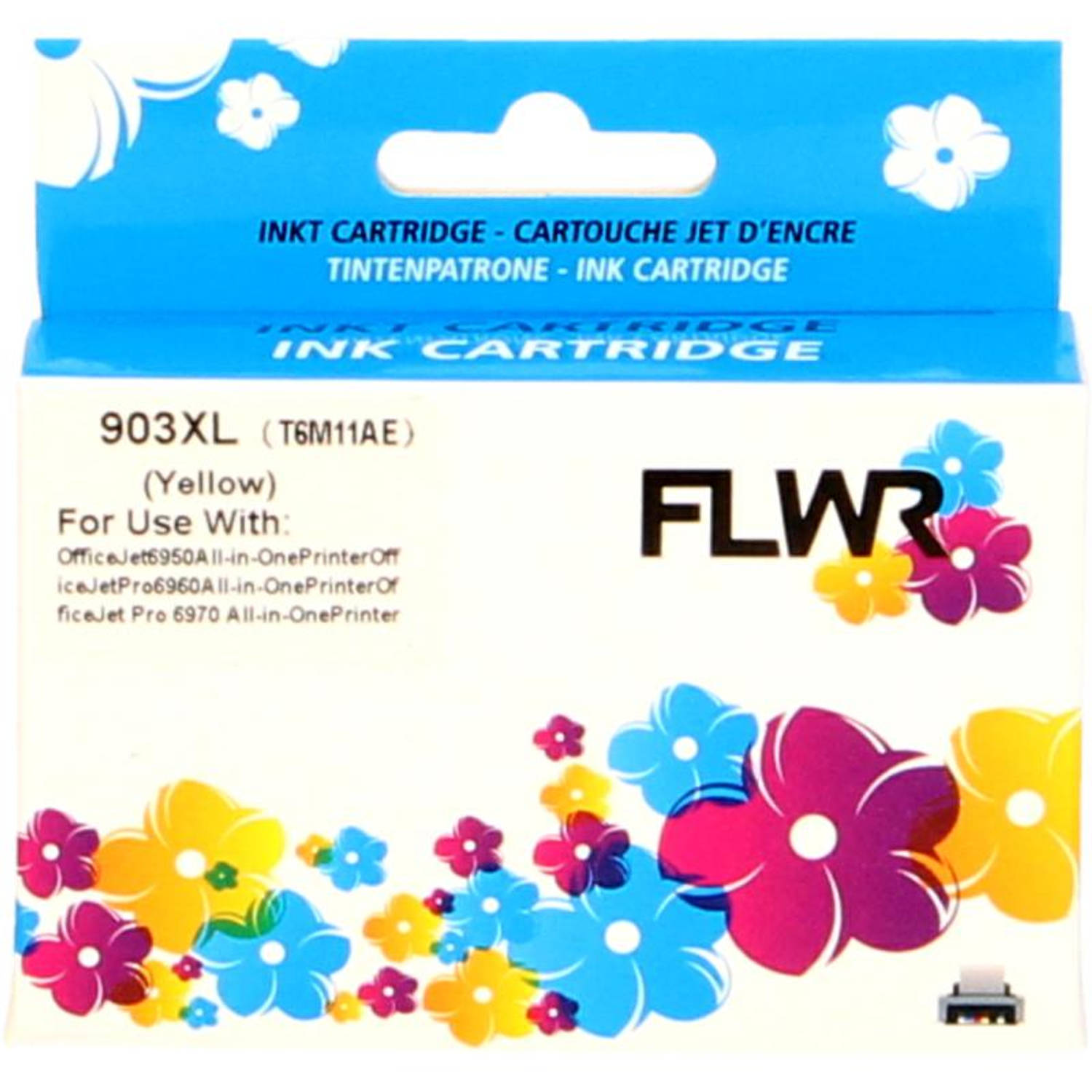 FLWR HP 903XL geel Cartridge