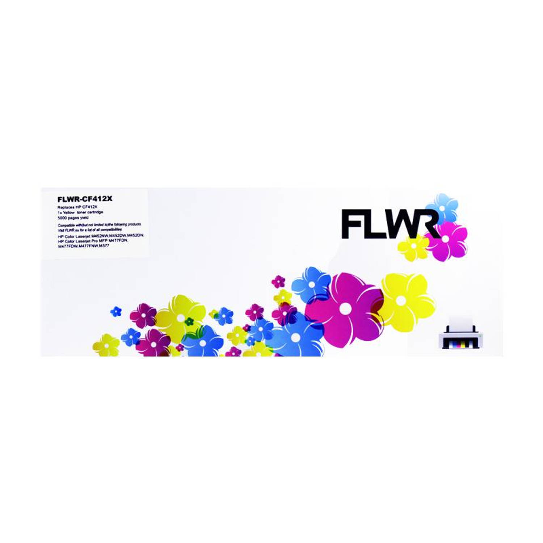 FLWR HP 410X geel Toner