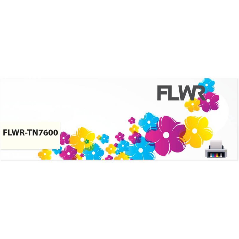 FLWR Brother TN-7600 zwart Toner