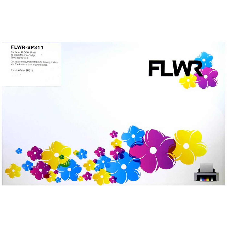 FLWR Ricoh 407246 zwart Toner