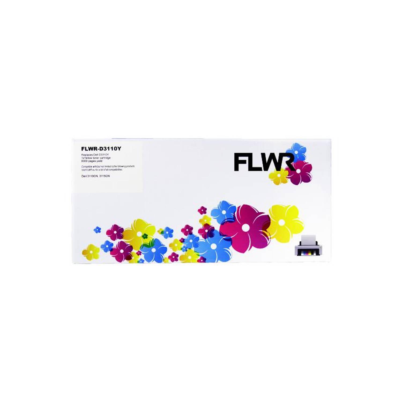 FLWR Dell 3110 geel Toner