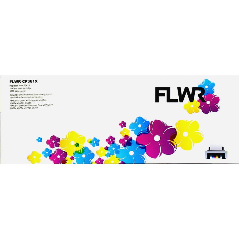 FLWR HP 508X cyaan Toner