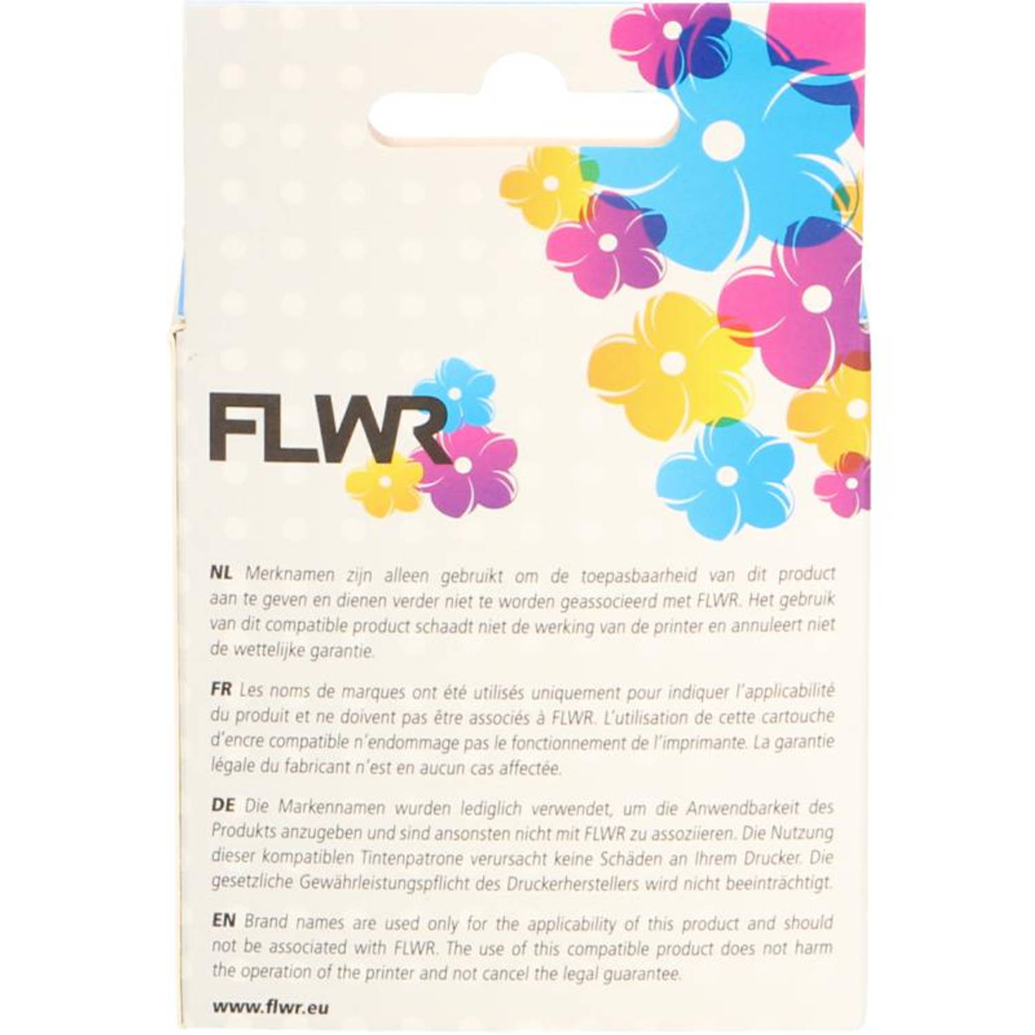 FLWR Canon CL-546XL kleur Cartridge