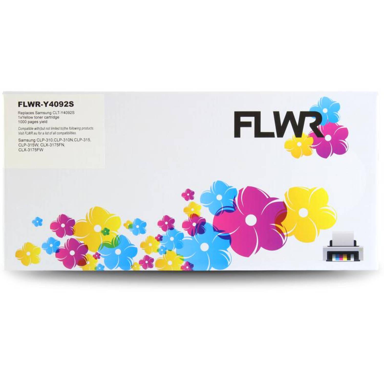 FLWR Samsung CLT-Y4092S geel Toner