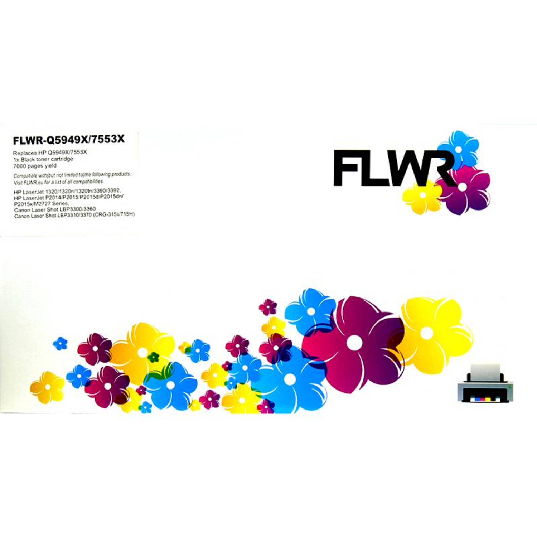 FLWR HP 49X / 53X zwart Toner