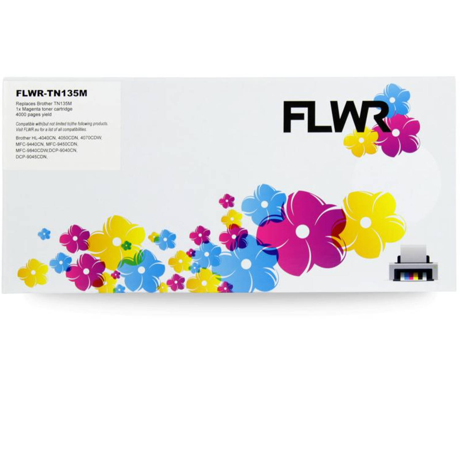 FLWR Brother TN-135M magenta Toner