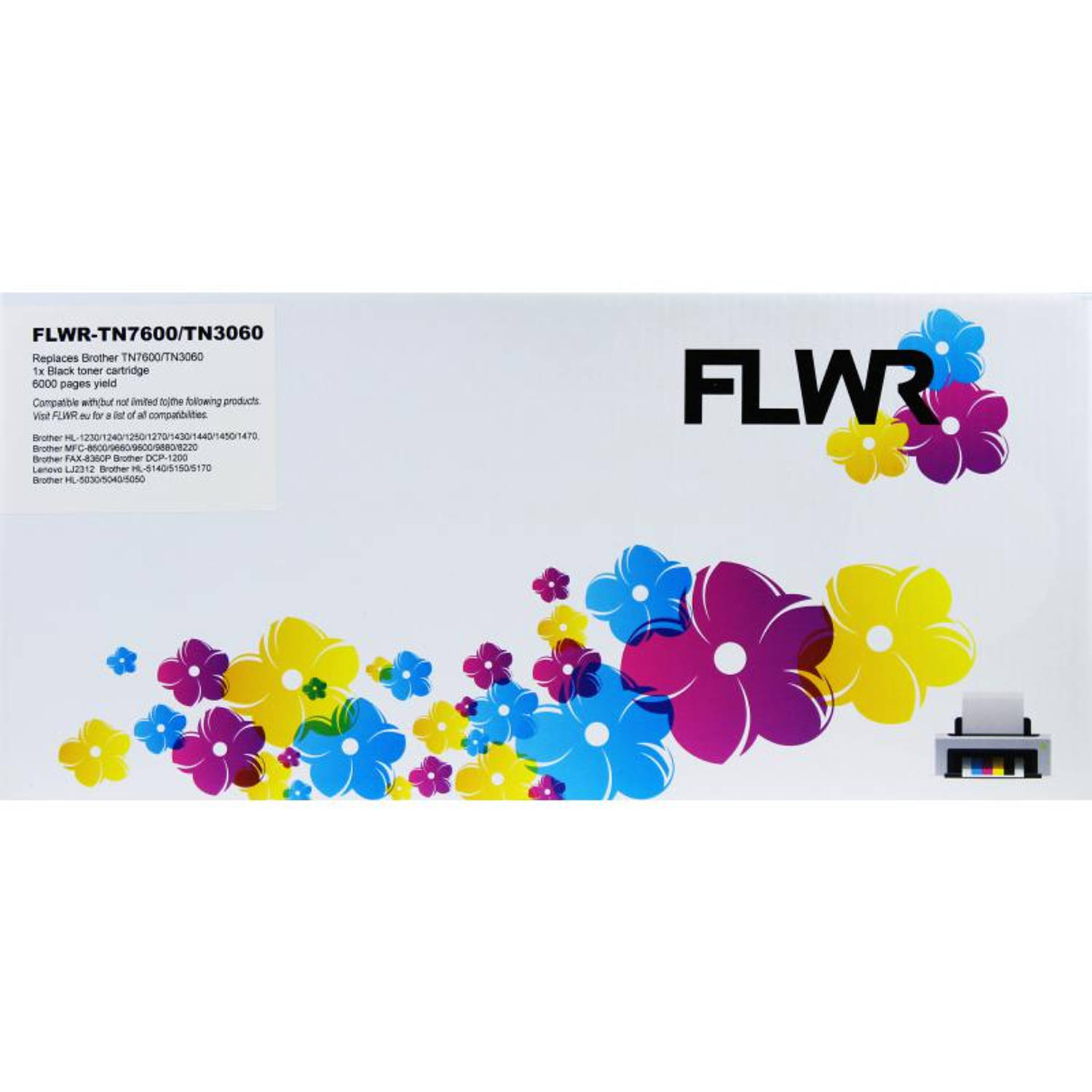 FLWR Brother TN-3060 zwart Toner