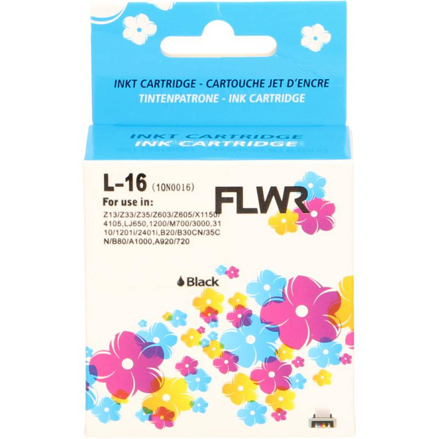FLWR Lexmark 16 zwart Cartridge