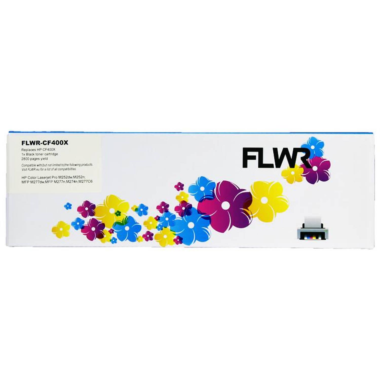 FLWR HP 201X zwart Toner