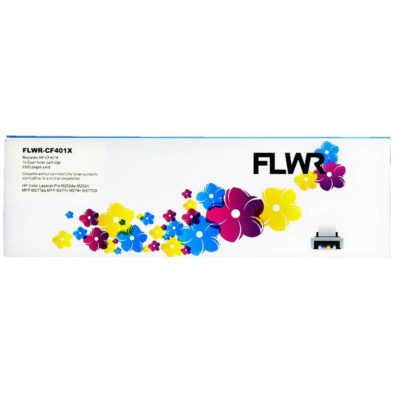 FLWR HP 201X cyaan Toner