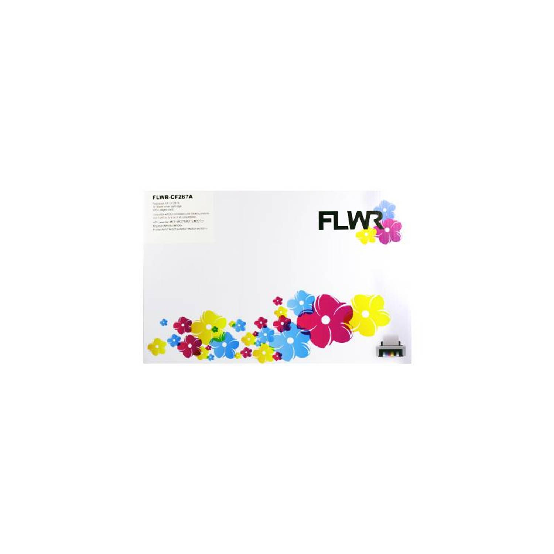 FLWR HP 87A zwart Toner