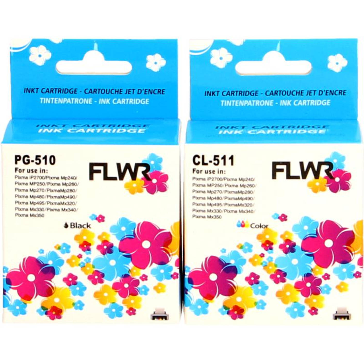 FLWR Canon PG-510/CL-511 Multipack Cartridge