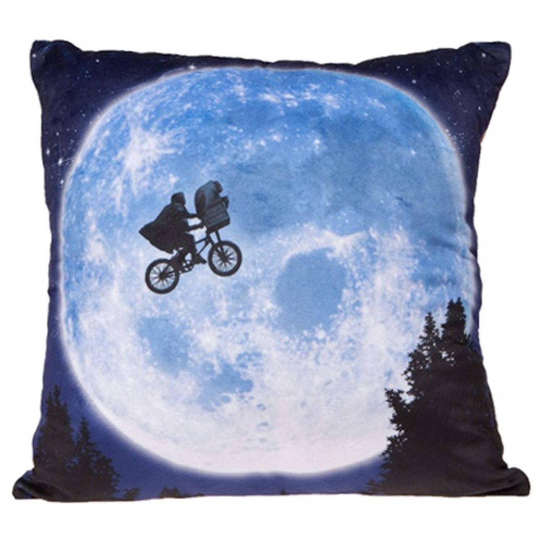 Universal kussen E.T. dubbelzijdig blauw 35 x 35 cm