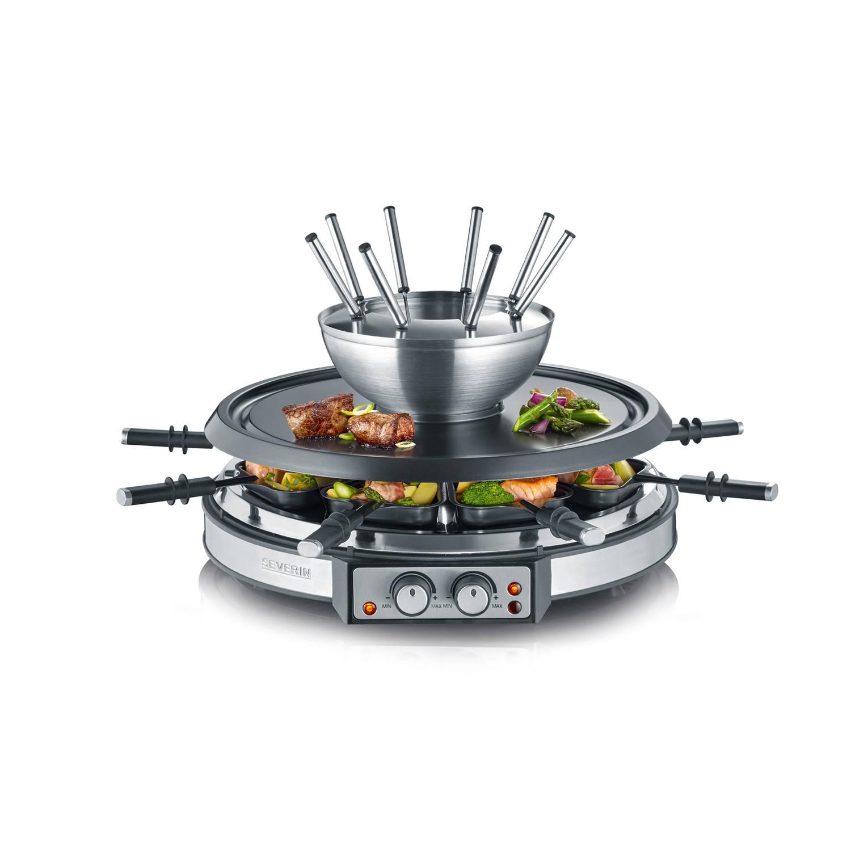 Severin 2-in-1 fondue- en gourmetset RG2348