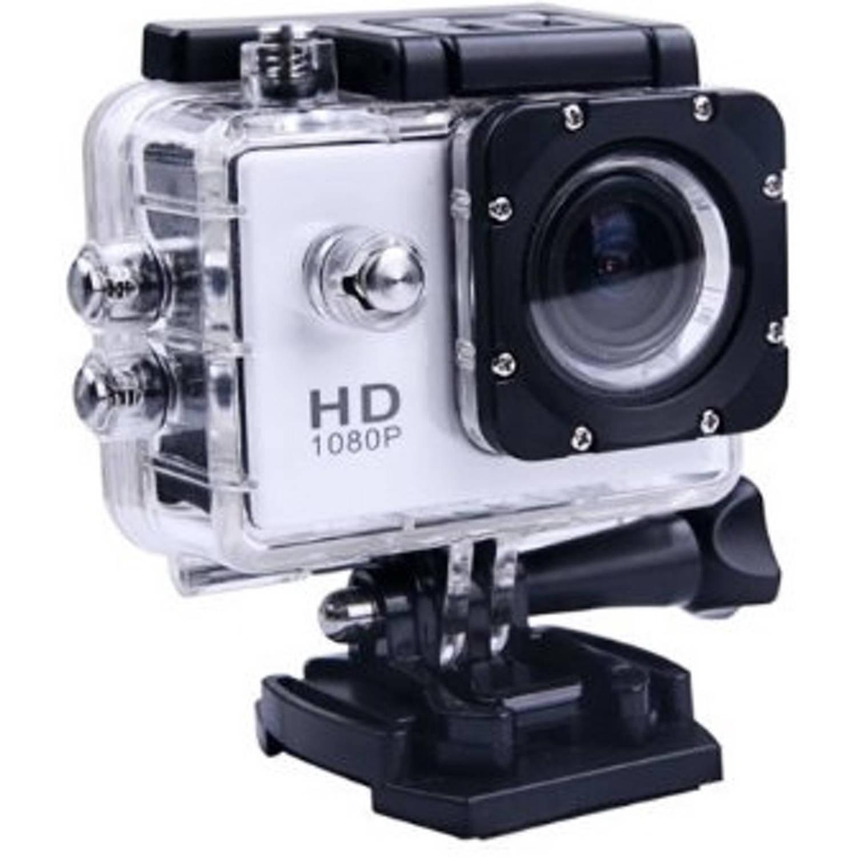 Korting Sport Hd 1080p Action Camera Zilver