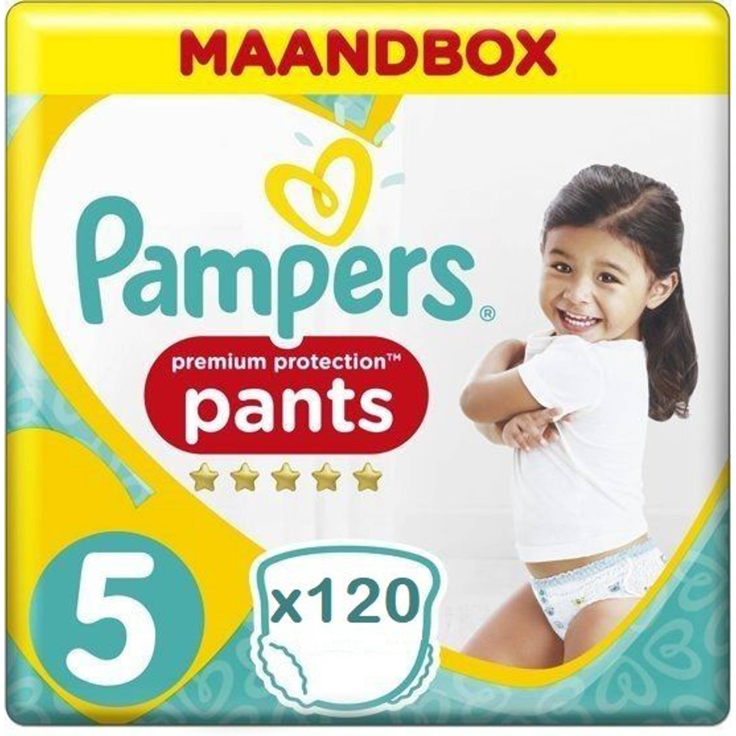 Pampers Premium Protection Pants Active fit Maat 5 - 120 stuks